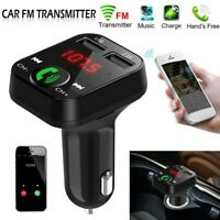 Wireless Bluetooth Car FM Transmitter Radio MP3 Player USB Charger Kit Handsfree