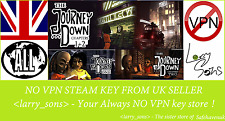 The Journey Down Chapter One + Two Steam key NO VPN Region Free UK Seller