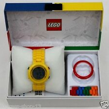 Lego Digifigure Yellow Adult 9007408 Stop watch Grey Dial Unisex Watch Brand New