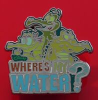 Walt Disney Parks Enamel Pin Badge Where's My Water? Alligator