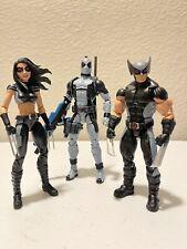Marvel Legends X-Force Deadpool X-23 Wolverine lot loose Excellent Condition