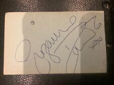 More details for brian jacks  judo   & suzanne dando british gymnast autographs on each side