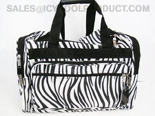 "ZEBRA LADY DESIGNER 16"" DUFFLE BAG LUGGAGE OVERNIGHT BAGGAGE CARRY-ON"