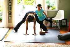 MANDUKA BLACK PRO SQUARED 6MM Yoga Mat 78 X 78  GUARANTEED 4 LIFE GIANT MAT
