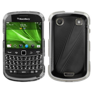 For Blackberry 9930 (Bold) Black Cosmo Protector Case Cover