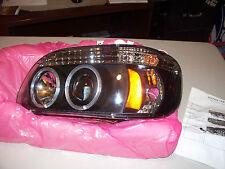 Spyder Halogen Projector Black / Smoke Lense 95-01 Ford Explorer Left (Driver)