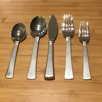 Pfaltzgraff SATIN PROVIDENCE Stainless Frosted 18//8 Silverware CHOICE Flatware