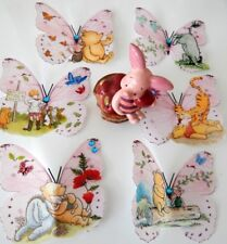 Winnie the Pooh bedroom decorations 3d butterflies,wall stickers hand crafted