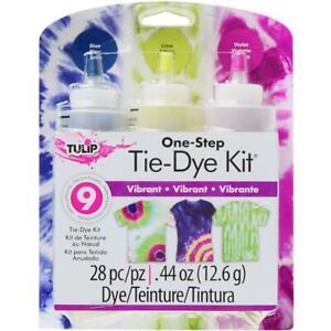 Tulip 'ONE-STEP TIE DYE KIT - VIBRANT' 3 Colours #31670