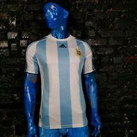 Argentina Team Jersey Home football shirt 2007 - 2009 Adidas Trikot Mens Size M