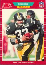 1989 Pro Set Merril Hoge #348 Football Card