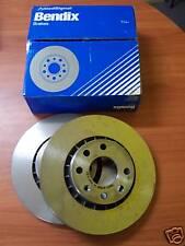 FRONT BRAKE DISC SET OF 2 HOLDEN BARINA SB 1.6 VENTED