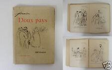 1125/ LIVRE ANCIEN 1897 DESSINS GRAVURES HUMOUR ILLUSTRATEUR FORAIN DOUX PAYS