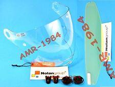 VISOR ORIGINAL NOLAN N43 CLEAR + SET SCREWS + VISOR ANTIFOG N43E AIR N43E
