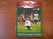 2010 el final el Atlético de Madrid V Fulham a objetivos
