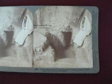 Stereoview Underwood & Underwood Tomb Of The Kings Jerusalem Palestine Stone (O)