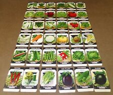 36 VINTAGE SEED PACKET BIG LOT OLD 1920 GARDEN LITHOGRAPH GENERAL STORE PACK  #5