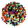 Pompons klein, bunte Pom Pom Kugeln, mini Pompom, Bommel zum Basteln, 500er Set