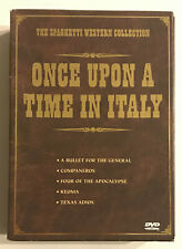 Once Upon a Time in Italy - The Spaghetti Western Collection DVD Set Anchor Bay
