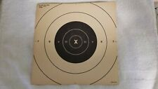 Pistol or Rifle PracticeShooting Targets 250 Pack, 25 Yard Paper Targets