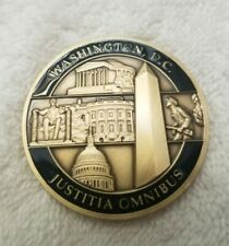 """CIA """"Justice to All"""" Challenge Coin - RARE!!!!!"""