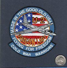 A258 USAF LOCKHEED U-2 DRAGON LADY SOLUM VOLAMUS PATCH REPRO NEW