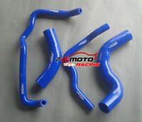 Silicone Radiator Hose for Toyota Hilux KZN165R 3.0L TURBO DIESEL 1999-2005 BLUE