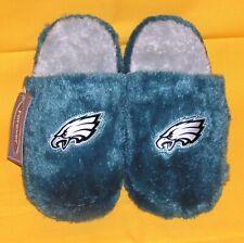 YOUTH  --- Philadelphia Eagles Slip-on Slide Slippers -- KID SMALL