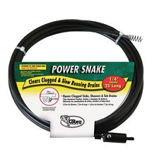 "Power Snake Drain Auger 1/4 "" X 15 '"