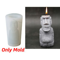 Resurrection Stone Statue Candle Mould DIY Scented Candle Silicone Mold