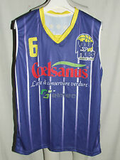 Shirt Maillot Tank Top Basketball Robur Et Fides Varese n ° 6