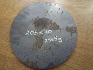 Mild Steel Circle Ring Disc 205 x 6mm Thick Qty 2