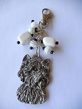 Mastiff Labrador Retriever Westie Dachshund Shiba Inu Dog key rings bag dangler
