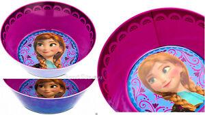 Disney Store Frozen Princess Anna Child Cereal Icecream Bowl Mealtime Magic NEW