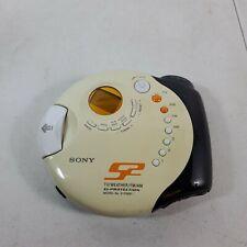 Sony D-FS601 Sports Walkman CD Discman TV/Weather/FM/AM Radio ~ Tested and Works