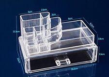 9 compartimento 1 cassetto Organizer Cosmetici Acrilico Trasparente Make Up Holder Storage
