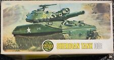 Airfix Sheridan Tank Model Kit 00 Scale NOS Open Box Free Shipping From USA