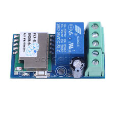 DC 12V 5.2x2.8x2cm Wifi Relay Module Wireless Relay Switch Jog Mode Low Power