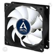 Arctic F8 80mm PC Case Fan Rev. 3, 2000 RPM, 31 CFM, 12V, 3-Pin, AC Artic