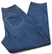 Womens L.L. Bean Straight Leg Blue Jeans Size 10 Petite