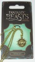 New Official Fantastic Beasts and Where to Find Them Stupefy Necklace