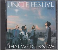 Uncle Festive That We Do Know Japanese Denon CD Jazz FASTPOST