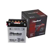 Motorradbatterie YB12AL-A2 Novelbat - Aprilia Leonardo 125 150 250 LC ST