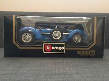 Bburago 1:18 BUGATTI 1934 type 59 Die-Cast Mint Boxed BLUE NEW 1983 MIB