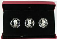 Rare 2011 Canada $15 Continuity of the Crown Sterling Silver 3-Coin Set With CAO