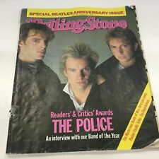 Rolling Stone Magazine Issue No. 373 (February March 1984) The Police #454