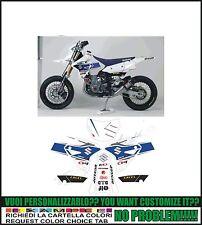 kit adesivi stickers compatibili drz 400 sm america