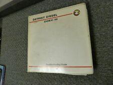 1992-1993 Detroit Diesel 40E Engine DDEC III Troubleshooting Shop Repair Manual