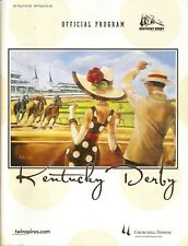 2008 - 134th Kentucky Derby program in MINT Condition - BIG BROWN