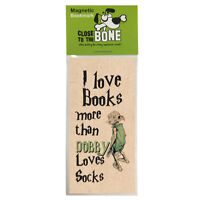 #626 MAGNETIC BOOKMARK Harry Potter Dobby funny present rude Any Occasion Gift